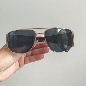Vintage VERSACE sunglasses with case